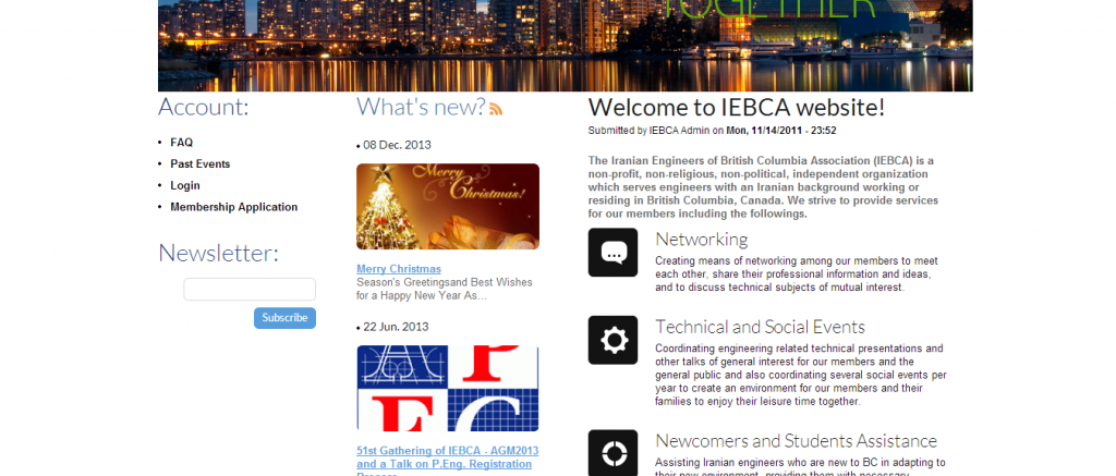 IEBCA   The Iranian Engineers of British Columbia Association